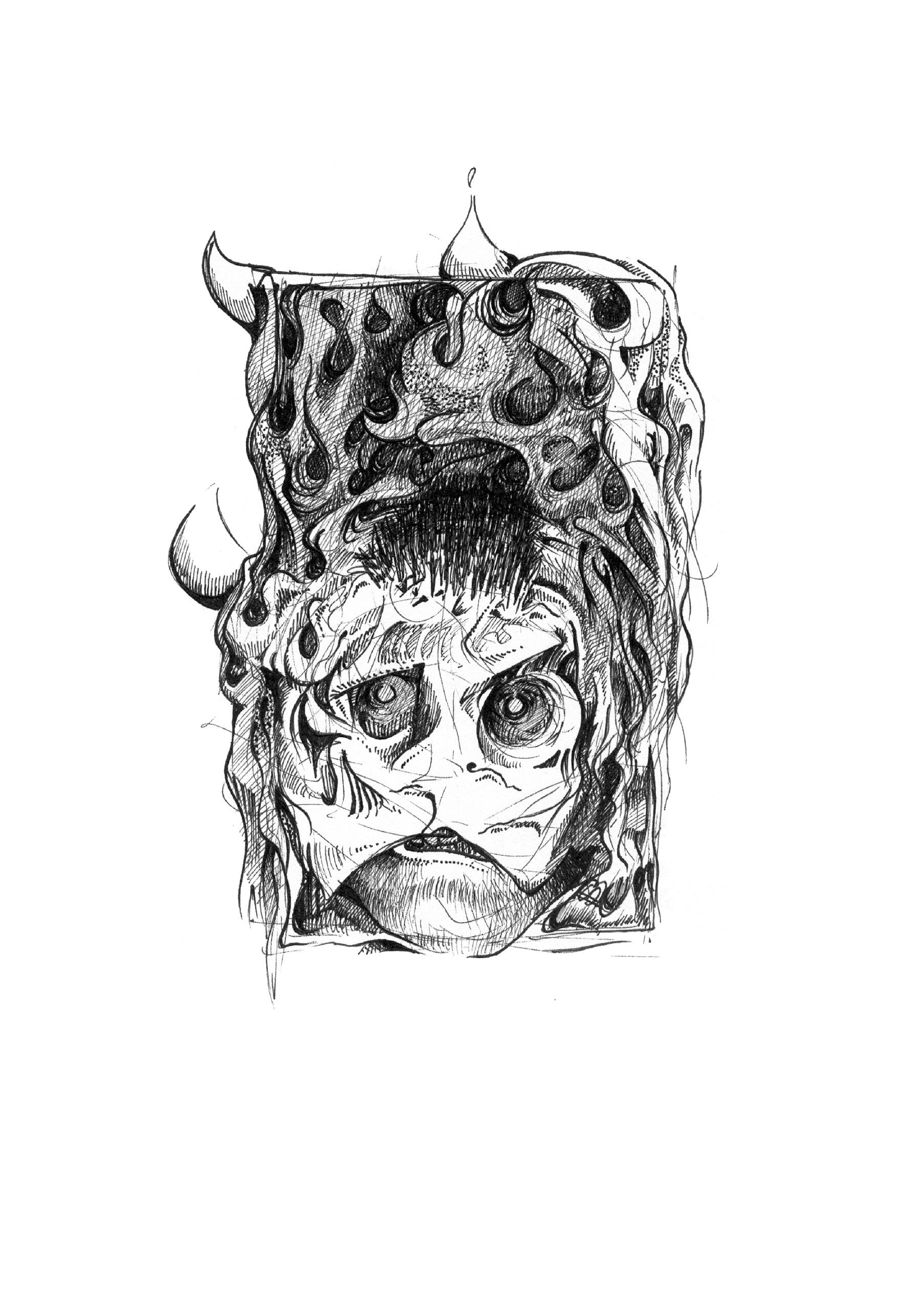 Detail afbeelding 8 van Confessions Of A Dangerous Mind | Ontwerp door Stefaan Beeckaert