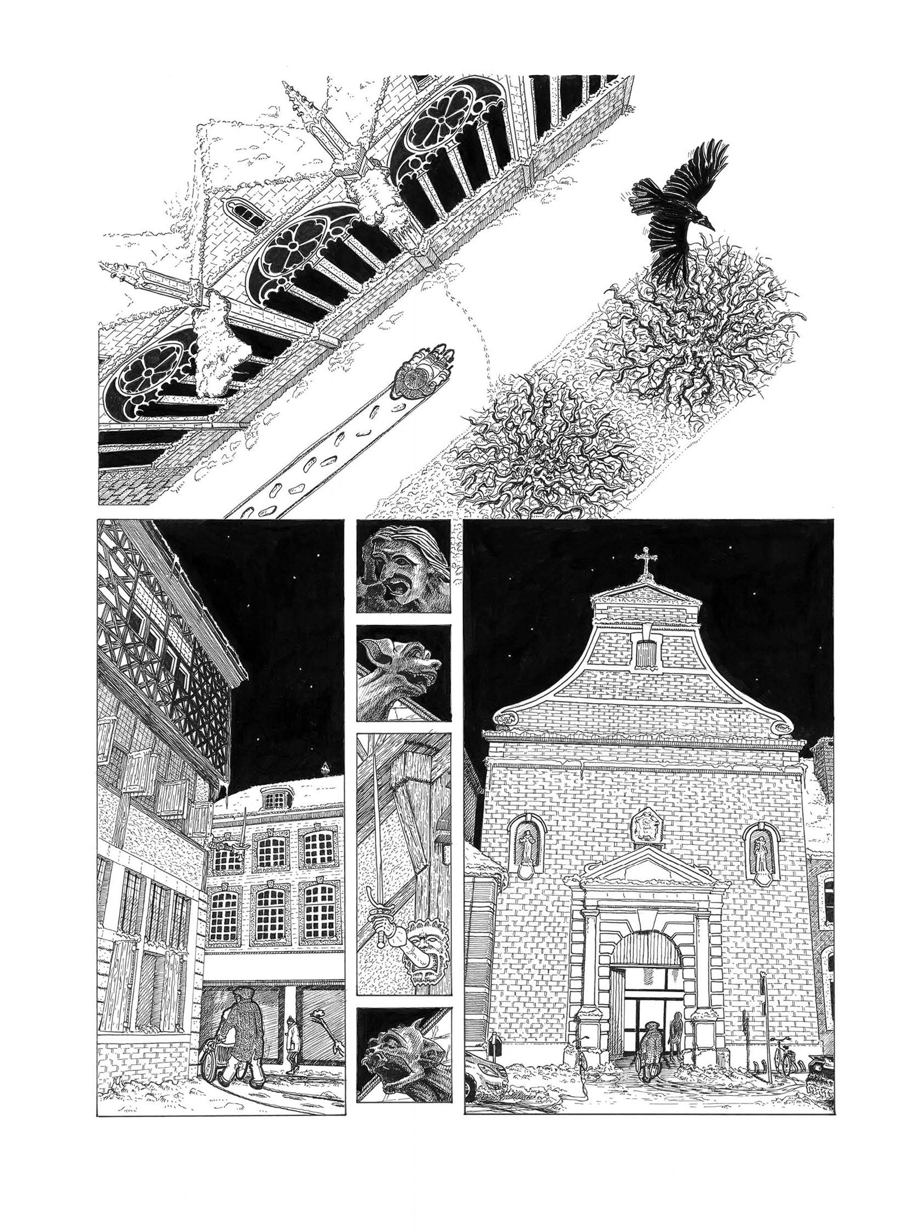 Detail afbeelding 2 van Meester Van De Klokken | Ontwerp door Stefaan Beeckaert