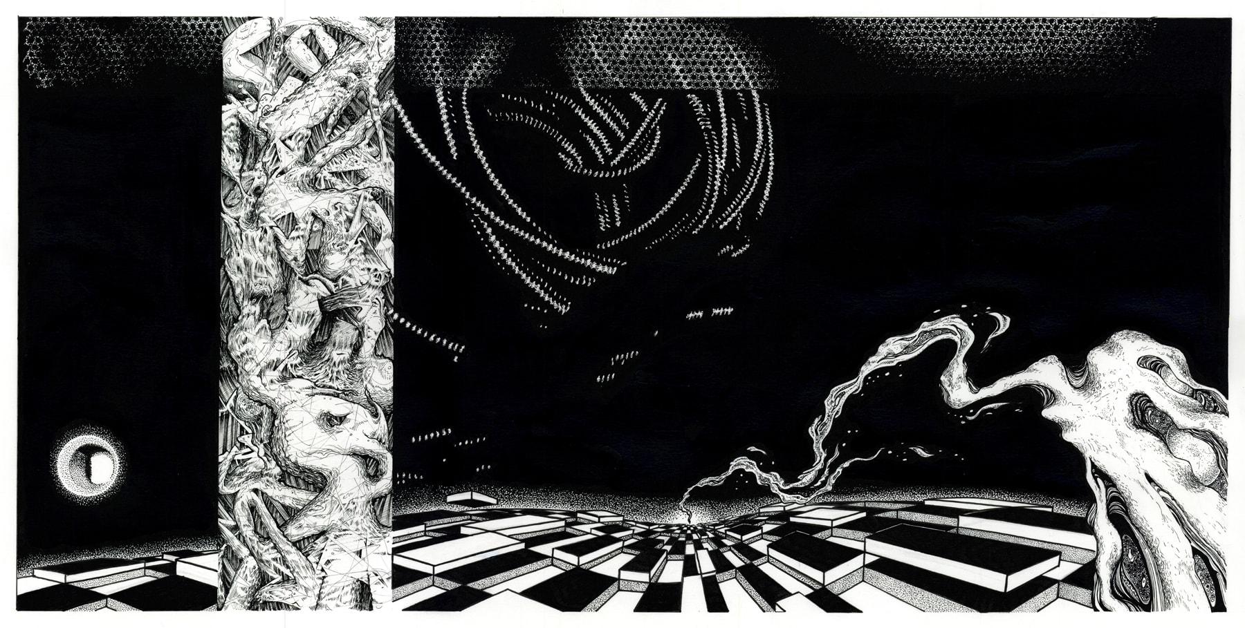 Detail afbeelding 6 van Meteor Musik | Ontwerp door Stefaan Beeckaert