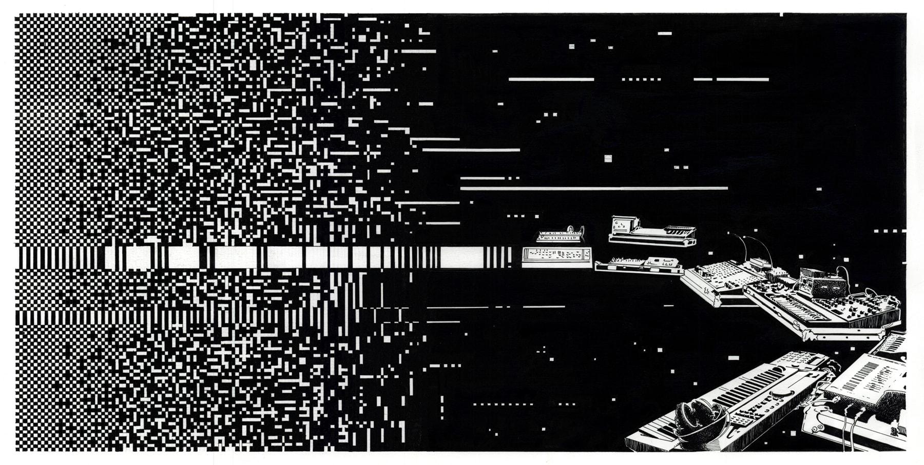 Detail afbeelding 4 van Meteor Musik | Ontwerp door Stefaan Beeckaert
