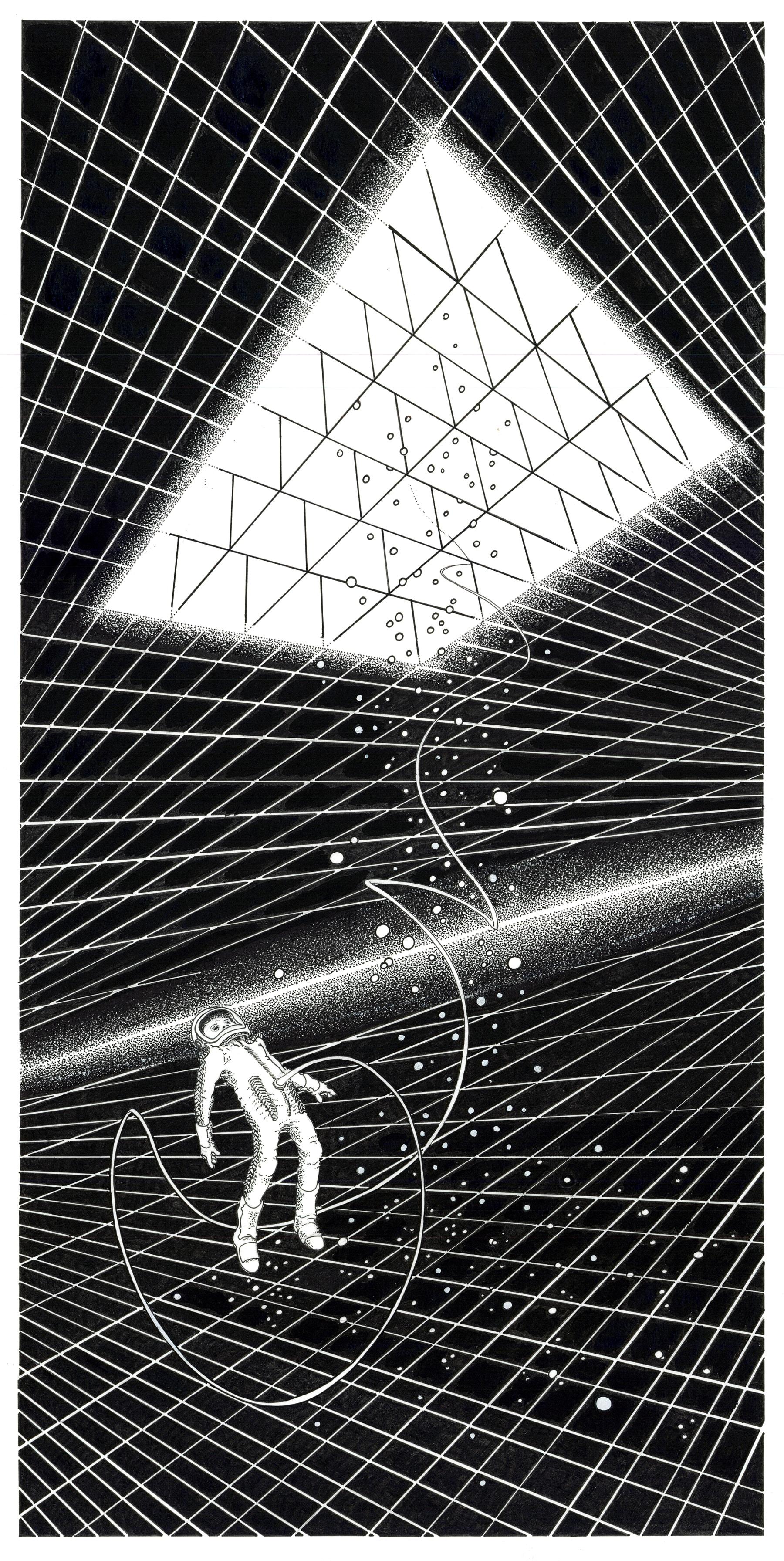 Detail afbeelding 2 van Meteor Musik | Ontwerp door Stefaan Beeckaert