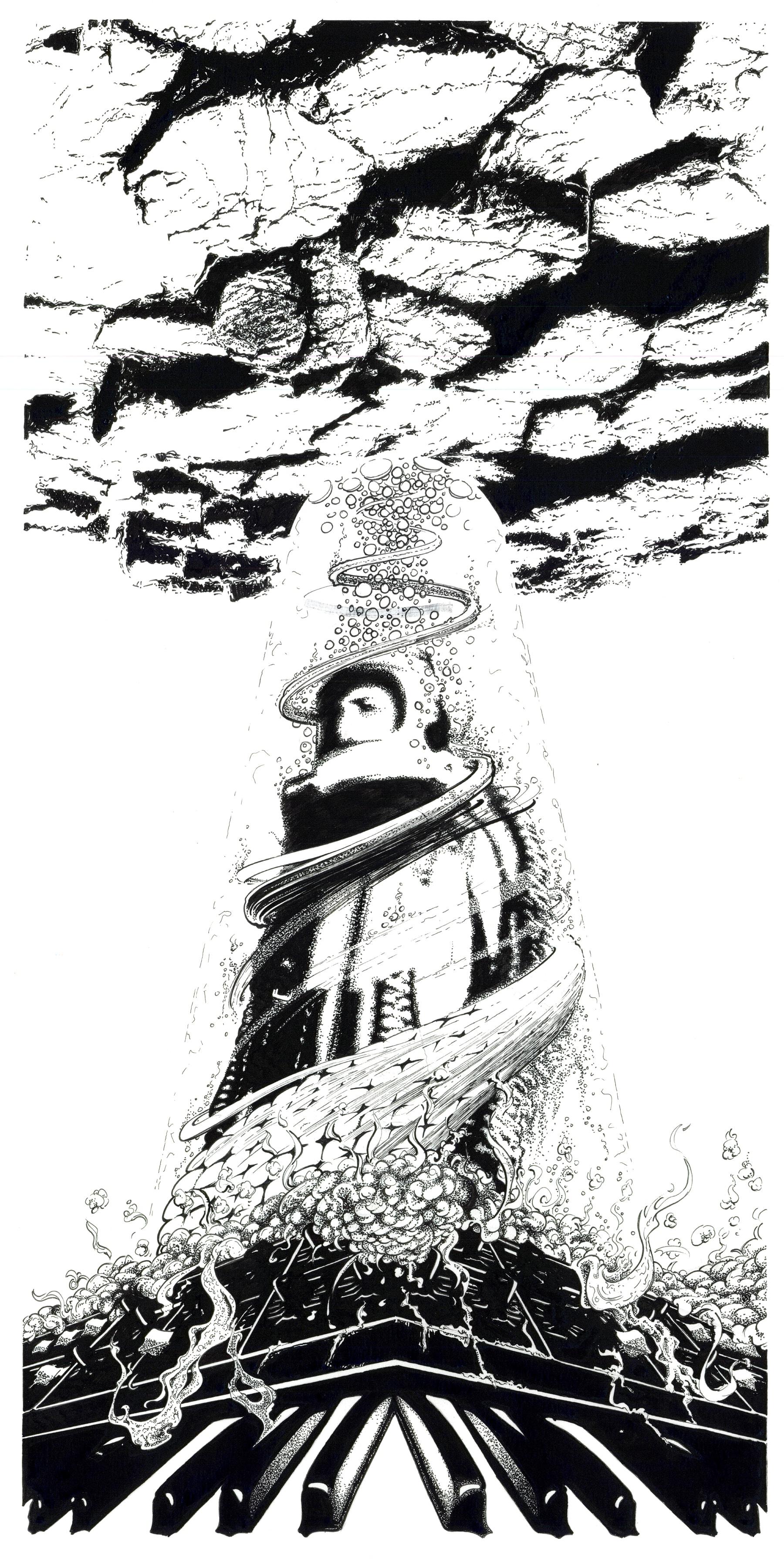 Detail afbeelding 5 van Meteor Musik | Ontwerp door Stefaan Beeckaert